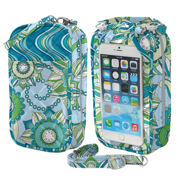 Cell Phone Purse -Large-Quilt-Fashion Designs - Charm14