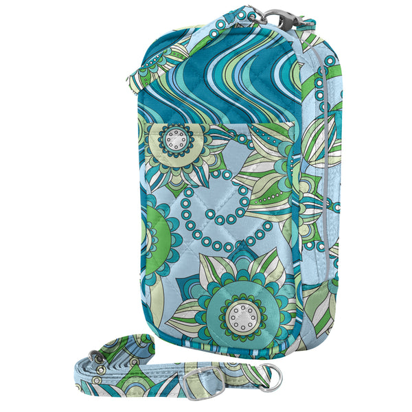 Cell Phone Purse - Sofie PursePlus Quilt with Touchscreen - Charm14