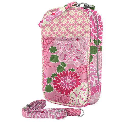 Cell Phone Purse - Hannah PursePlus Quilt with Touchscreen - Charm14