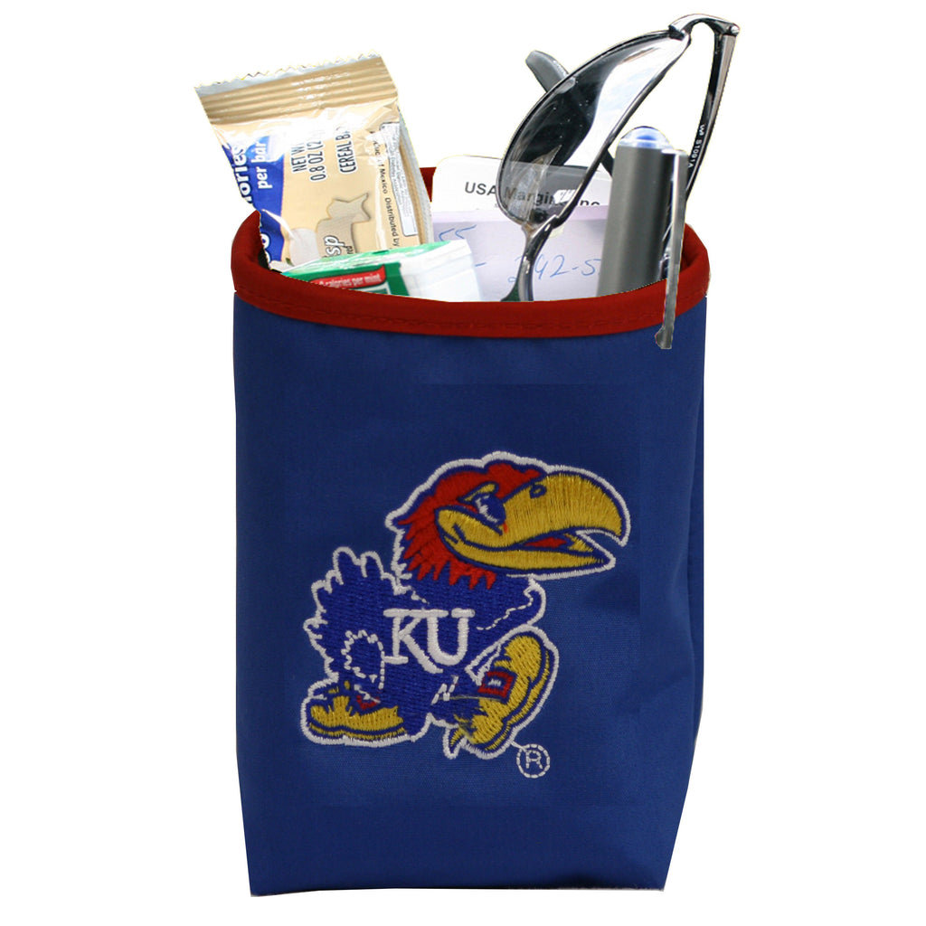 Kansas Jayhawks Car Organizer Pocket