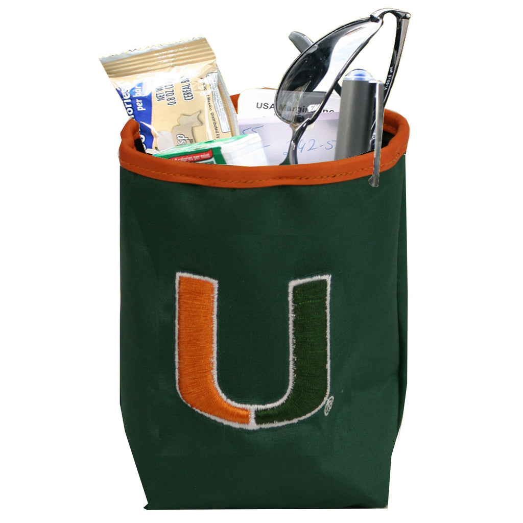 Miami Hurricanes  Car Pocket - Charm14