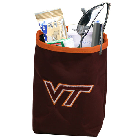 Virginia Tech Hokies Car Organizer Pocket