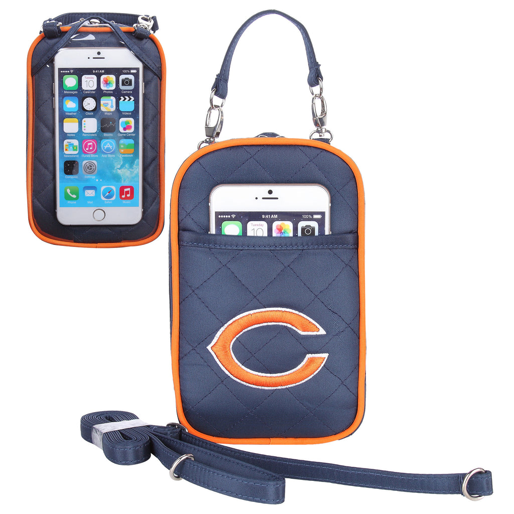 Chicago Bears Cell Phone Purse Plus Quilt - Charm14