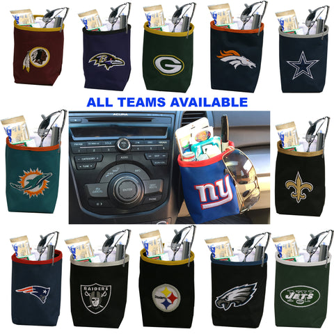 NFL Car Vent Pocket Organizers