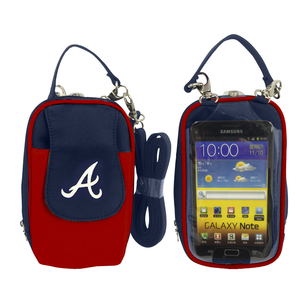 Atlanta Braves Cell Phone Purse XL- Fits all phones