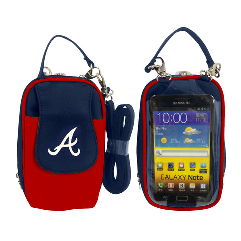 MLB Cell Phone Purse XL -Embroidered Logo-All Teams Available - Charm14