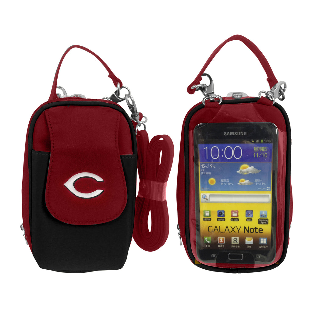 Cincinnati Reds -MLB- PursePlus XL with Touchscreen - Charm14