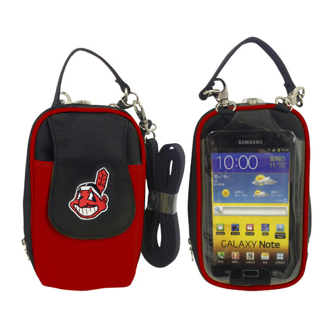 Cleveland Indians Cell Phone Purse XL- Fits all phones