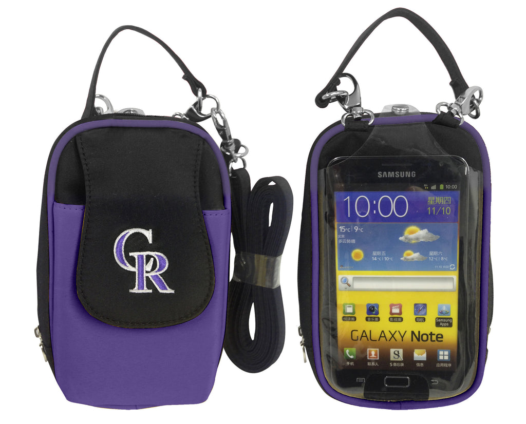 Colorado Rockies Cell Phone Purse XL- Fits all phones