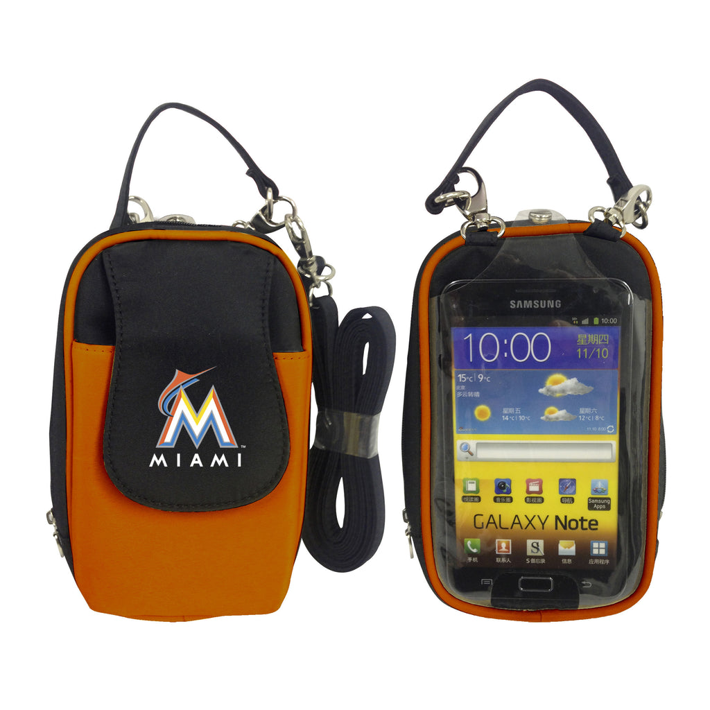MLB Miami Marlins PursePlus XL with Touchscreen - Charm14