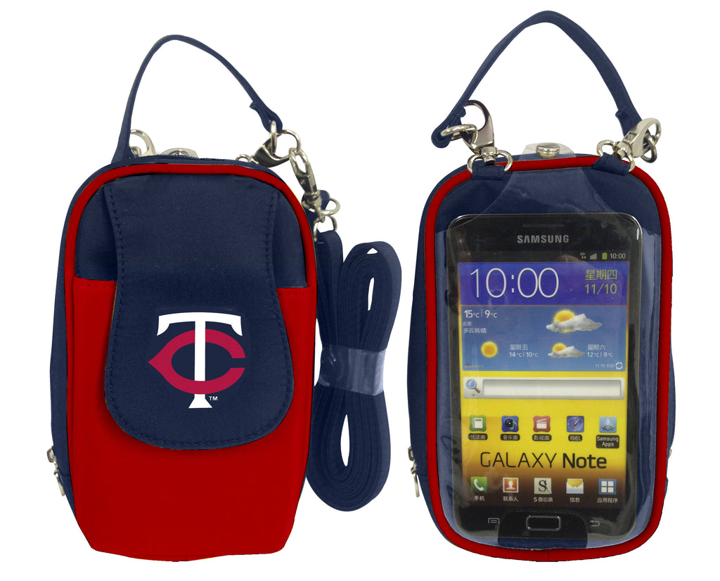 MLB Minnesota Twins PursePlus XL with Touchscreen - Charm14