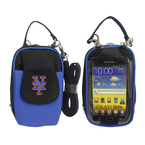 MLB New York Mets PursePlus XL with Touchscreen - Charm14