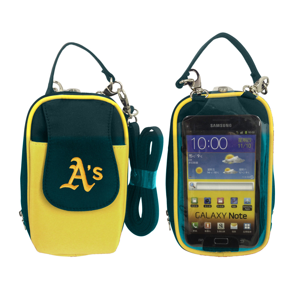 MLB Oakland Athletics PursePlus XL with Touchscreen - Charm14