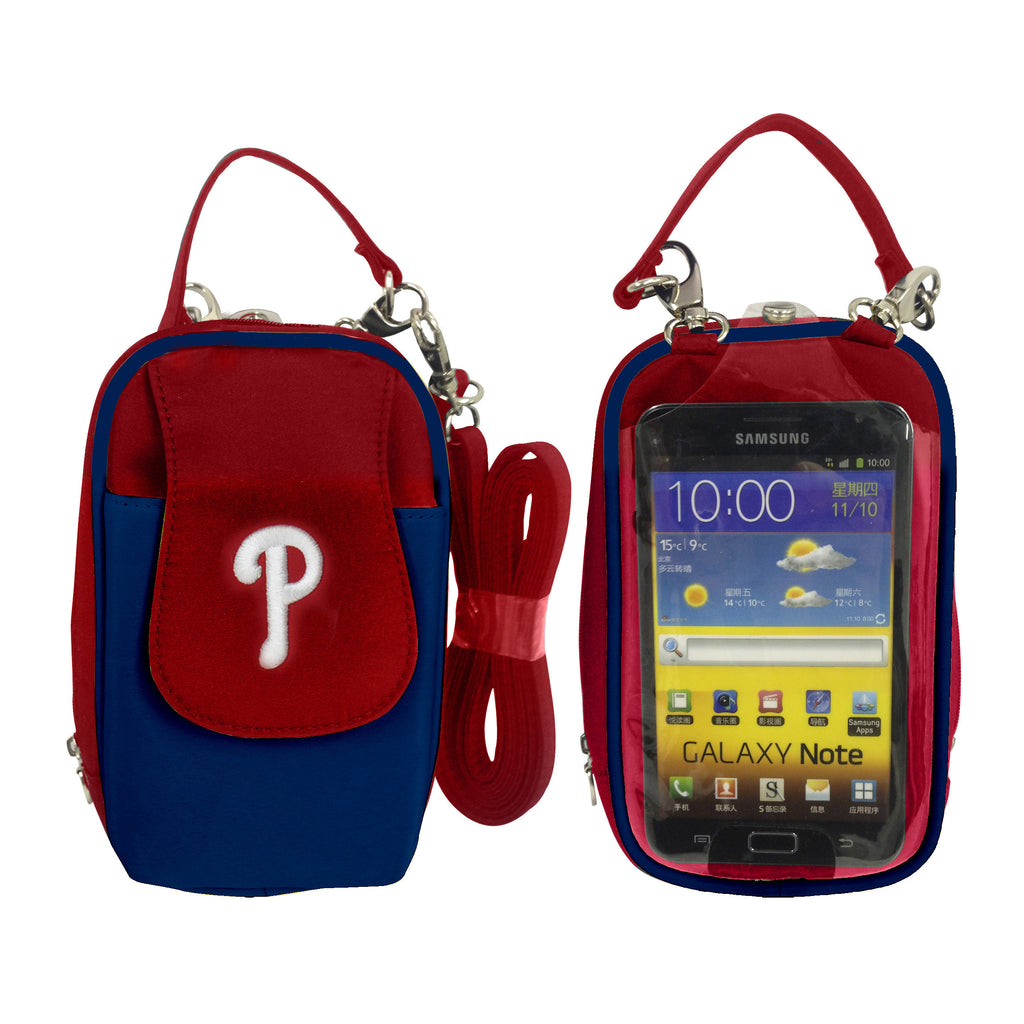 MLB Philadelphia Phillies PursePlus XL with Touchscreen - Charm14
