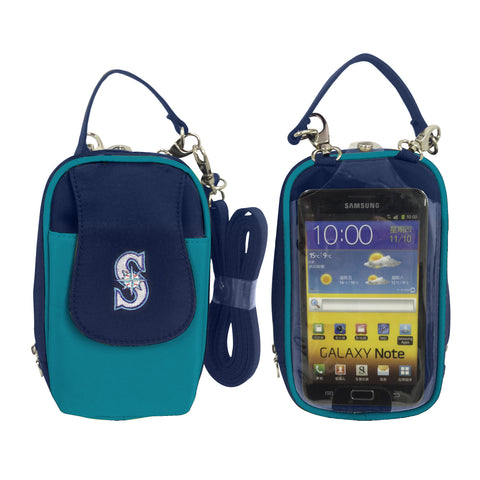 MLB Seattle Mariners PursePlus XL with Touchscreen - Charm14