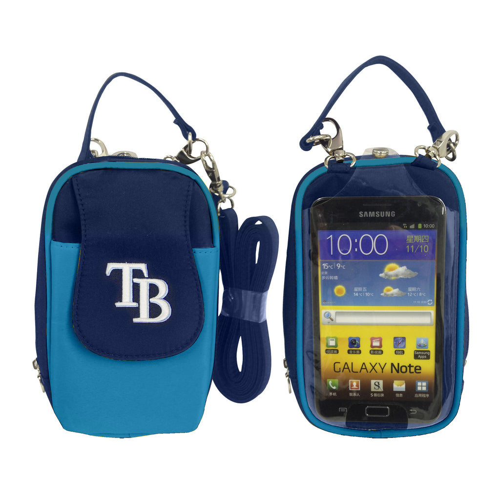 MLB Tampa Bay Rays PursePlus XL with Touchscreen - Charm14