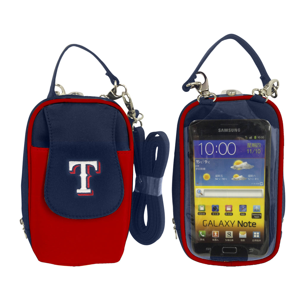 MLB Texas Rangers PursePlus XL with Touchscreen - Charm14