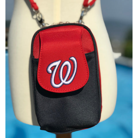 MLB Washington Nationals PursePlus XL with Touchscreen - Charm14