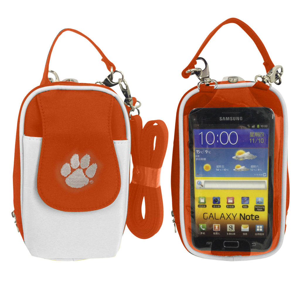 Clemson Tigers -NCAA- PursePlus XL with Touchscreen - Charm14