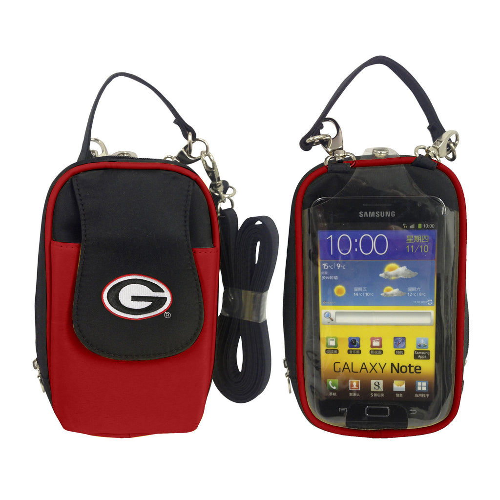 Georgia Bulldogs -NCAA-PursePlus XL with Touchscreen - Charm14