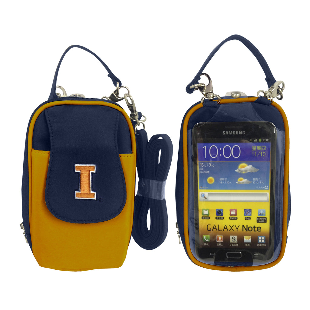 Illinois Illini Cell Phone Purse XL- Fits all phones
