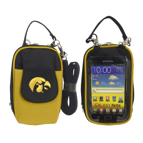 Iowa Hawkeyes -NCAA-PursePlus XL with Touchscreen - Charm14