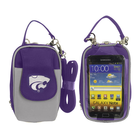 Kansas State Wildcats-NCAA- PursePlus XL with Touchscreen - Charm14