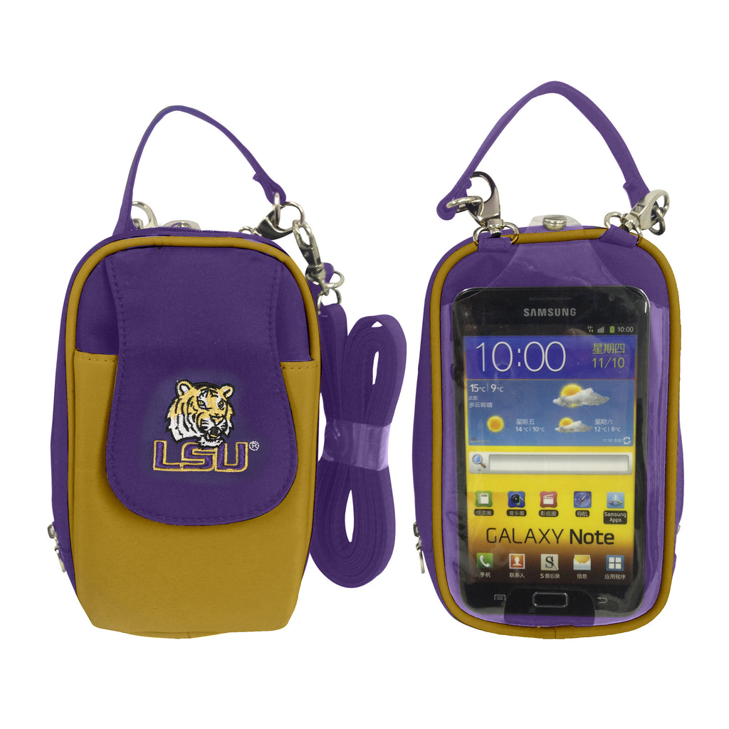 NCAA LSU Tigers PursePlus XL with Touchscreen - Charm14