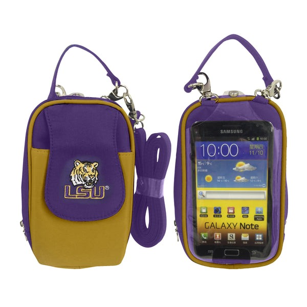 LSU Tigers Cell Phone Purse XL- Fits all phones