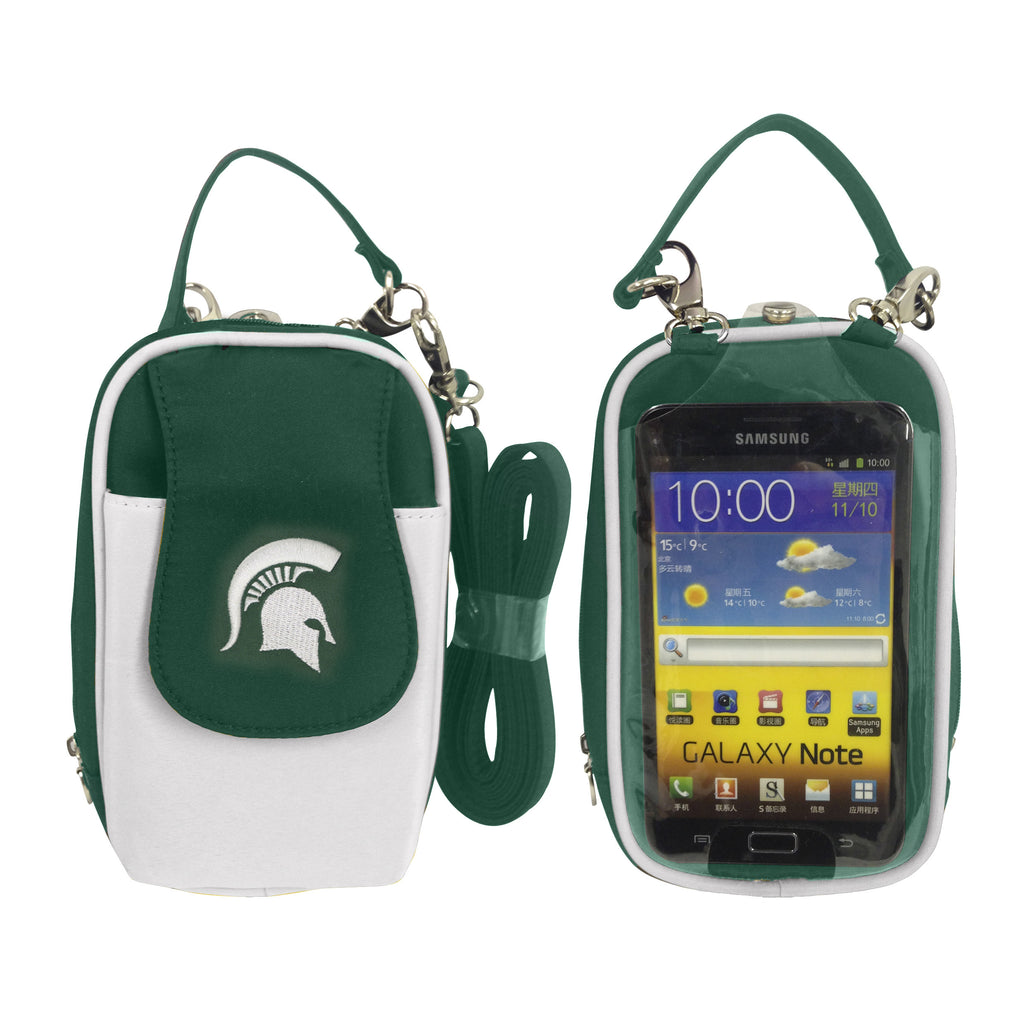NCAA Michigan State Spartans PursePlus XL with Touchscreen - Charm14