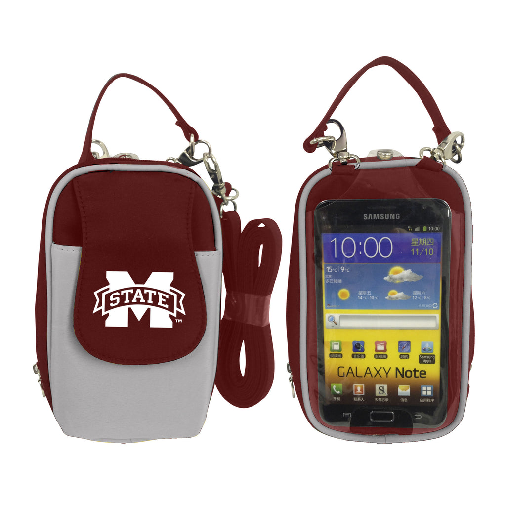 NCAA Mississippi State Bulldogs PursePlus XL with Touchscreen - Charm14