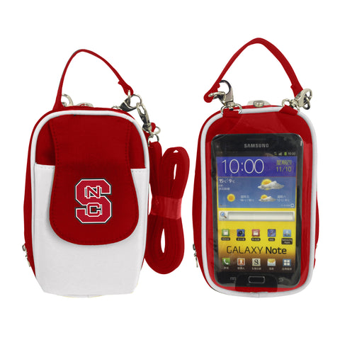 NCAA North Carolina State Wolfpack PursePlus XL with Touchscreen - Charm14