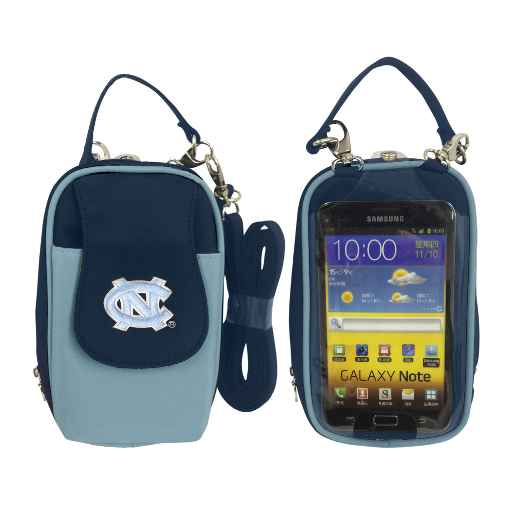 NCAA Cell Phone Purse XL-Embroidered Logo-All Teams Available - Charm14