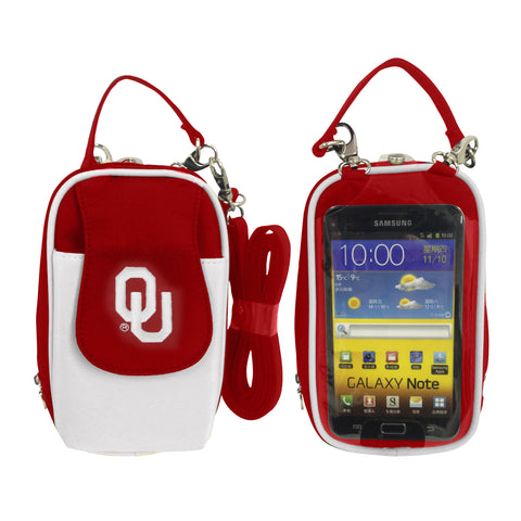 NCAA Oklahoma Sooners PursePlus XL with Touchscreen - Charm14