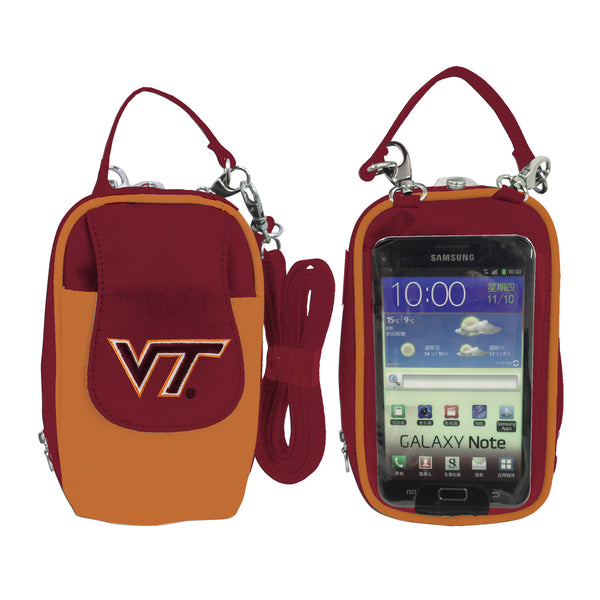 NCAA Virginia Tech Hokies PursePlus XL with Touchscreen - Charm14
