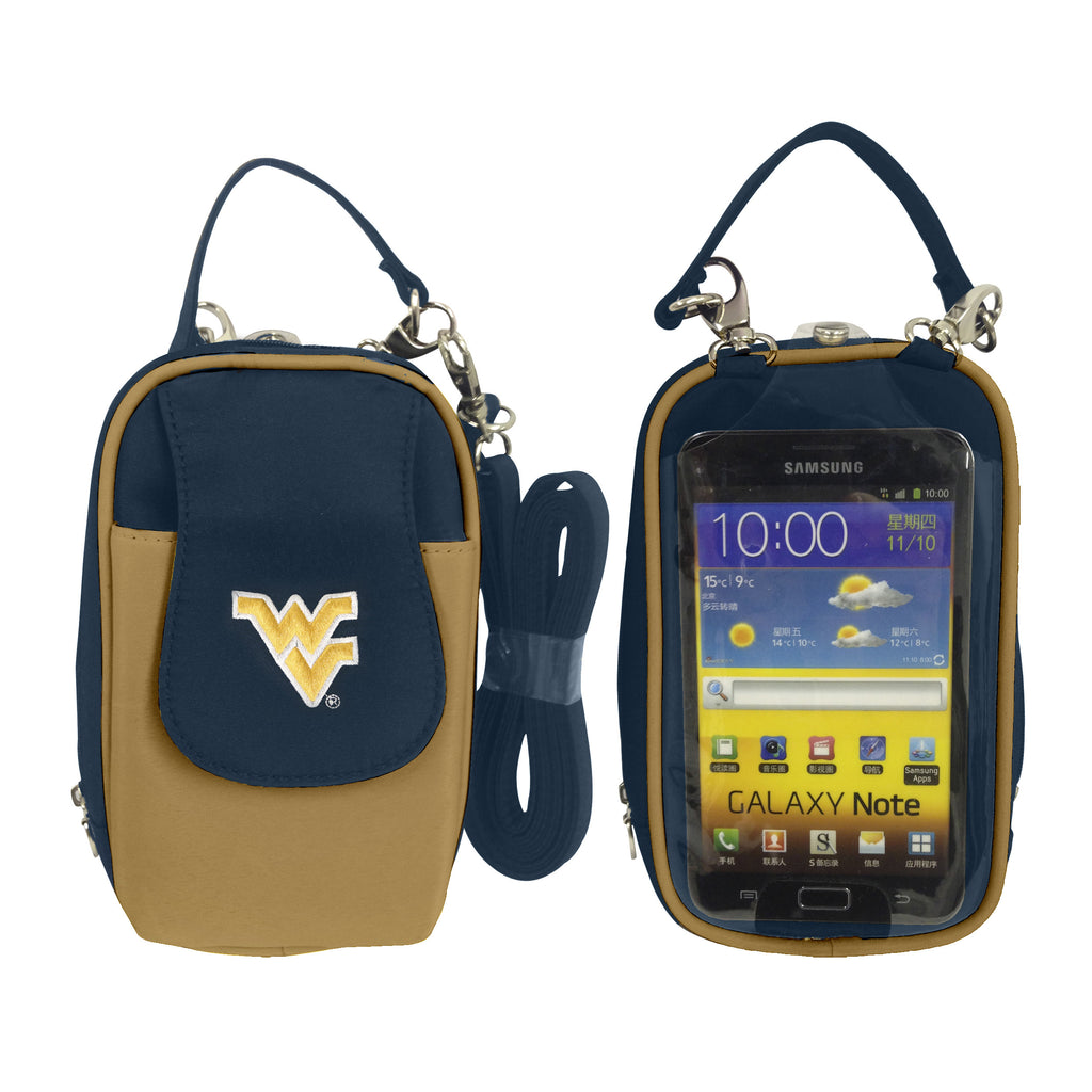 NCAA West Virginia Mountaineers PursePlus XL with Touchscreen - Charm14
