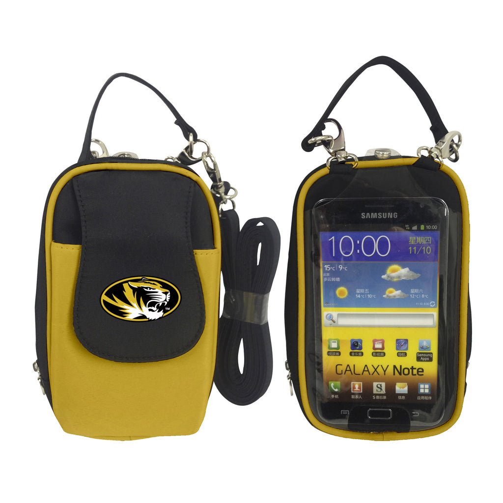 NCAA Missouri Tigers PursePlus XL with Touchscreen - Charm14