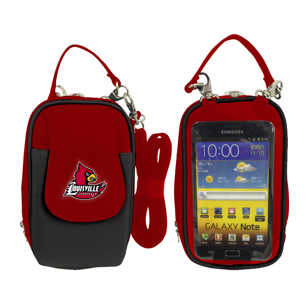 NCAA Louisville Cardinals PursePlus XL with Touchscreen - Charm14