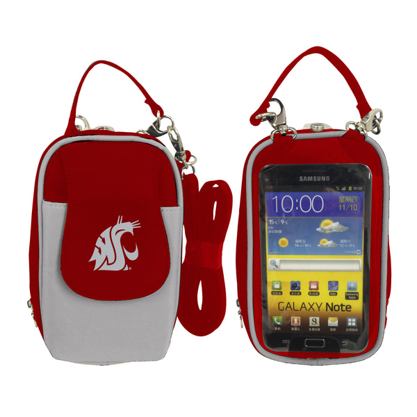 NCAA Washington State Cougars PursePlus XL with Touchscreen - Charm14