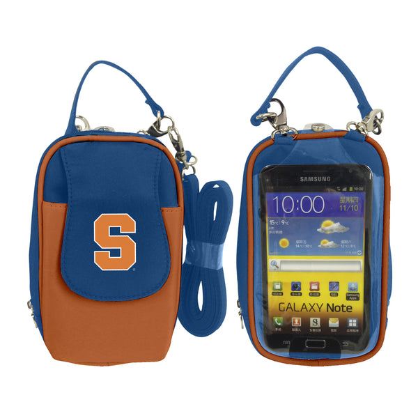 NCAA Syracuse Orange PursePlus XL with Touchscreen - Charm14