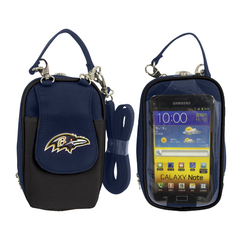 NFL Baltimore Ravens PursePlus XL with Touchscreen - Charm14