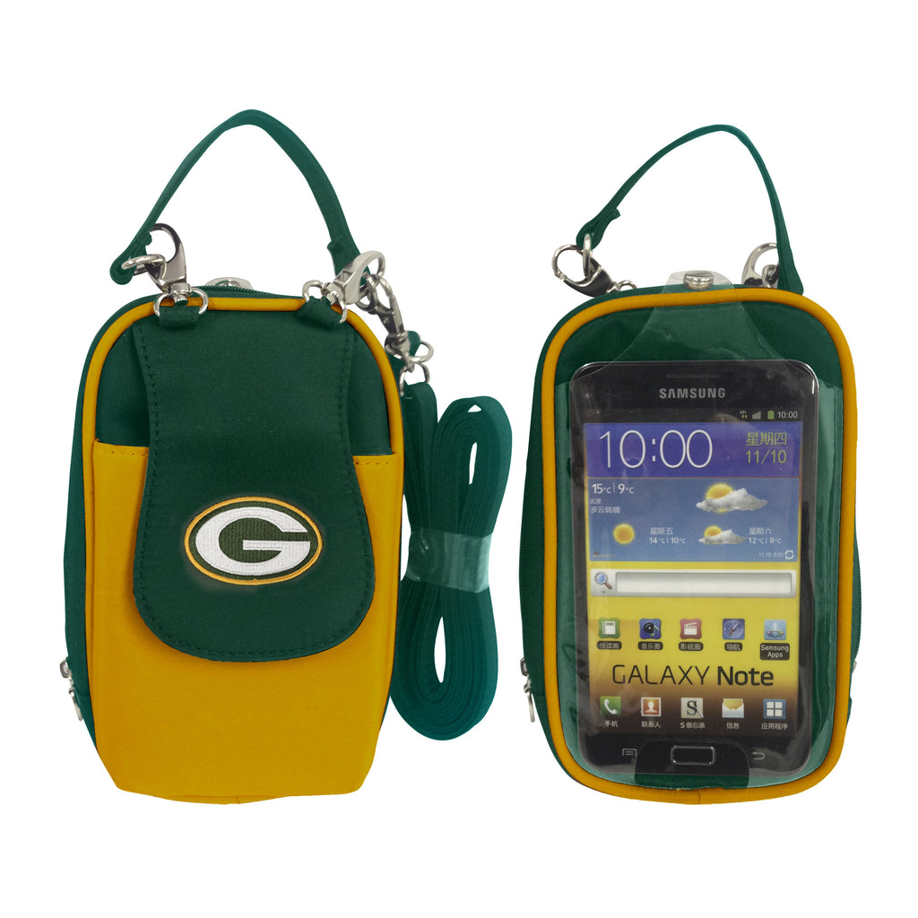 NFL Green Bay Packers PursePlus XL with Touchscreen - Charm14