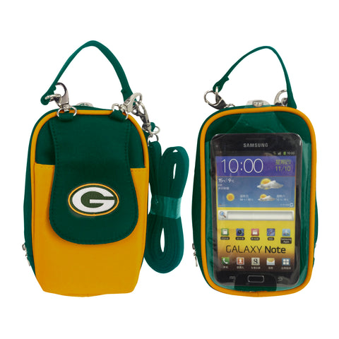 NFL Cell Phone Purse XL-Embroidered Logo-All Teams Available - Charm14