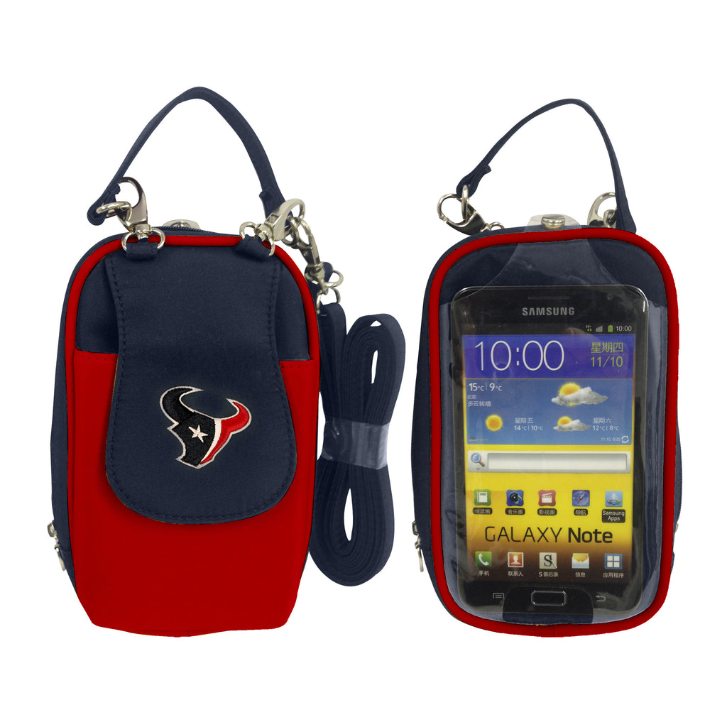 NFL Houston Texans PursePlus XL with Touchscreen - Charm14