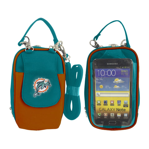 NFL Miami Dolphins PursePlus XL with Touchscreen - Charm14