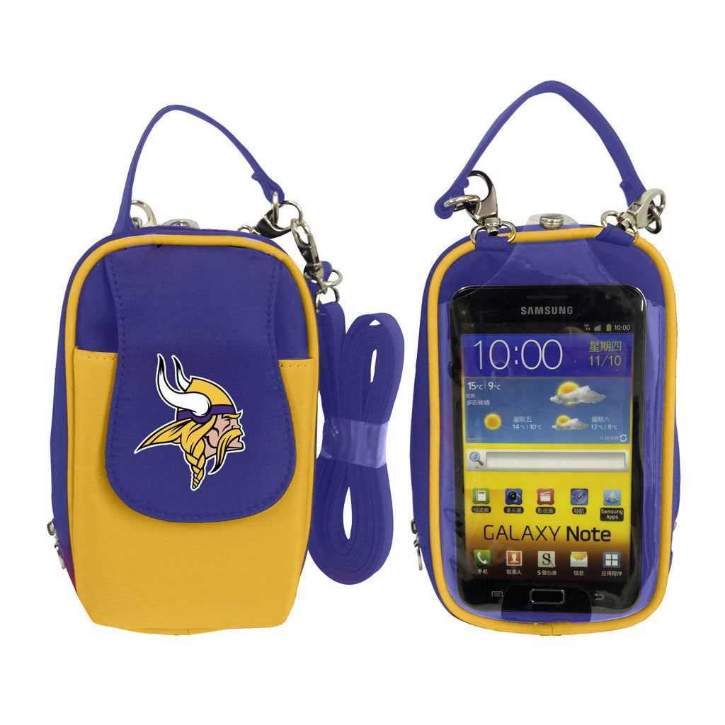 NFL Minnesota Vikings PursePlus XL with Touchscreen - Charm14