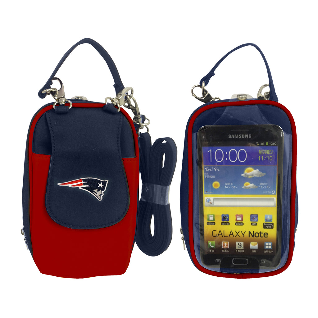 New England Patriots PursePlus XL with Touchscreen - Charm14