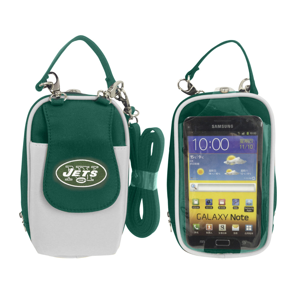 NFL New York Jets PursePlus XL with Touchscreen - Charm14