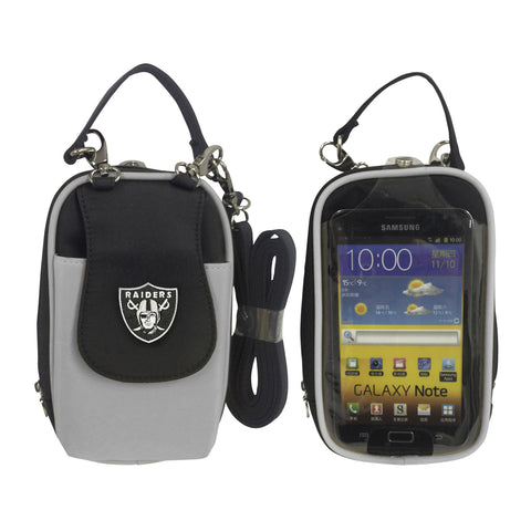 NFL Oakland Raiders PursePlus XL with Touchscreen - Charm14