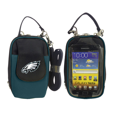 Philadelphia Eagles Cell Phone Purse XL- Fits all phones